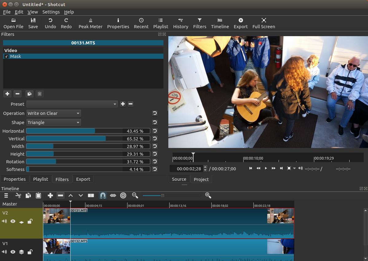 Shotcut Video Editor Gratuito
