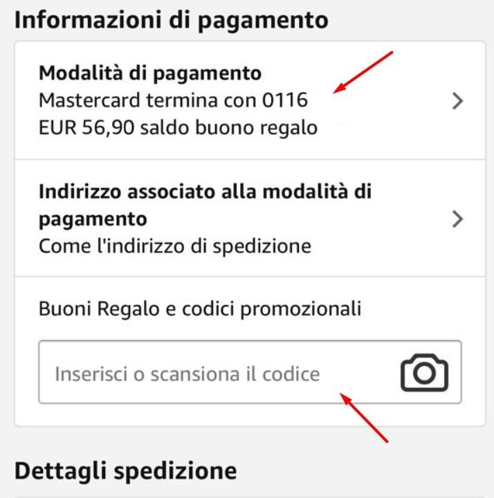 Codici Sconto Amazon App