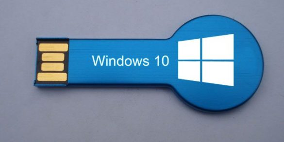 Windows 10 da USB