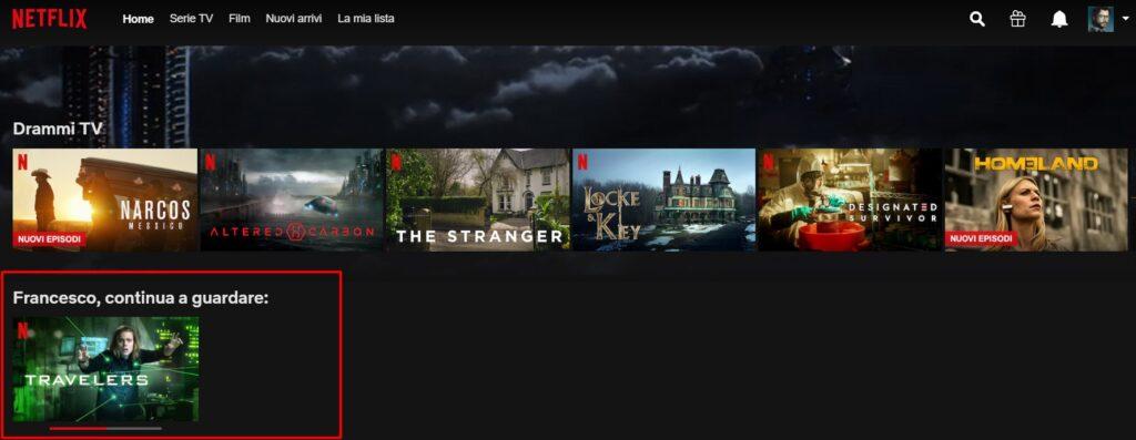 Netflix Continua a Guardare