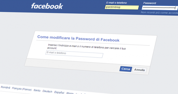 Hackerare Password Facebook
