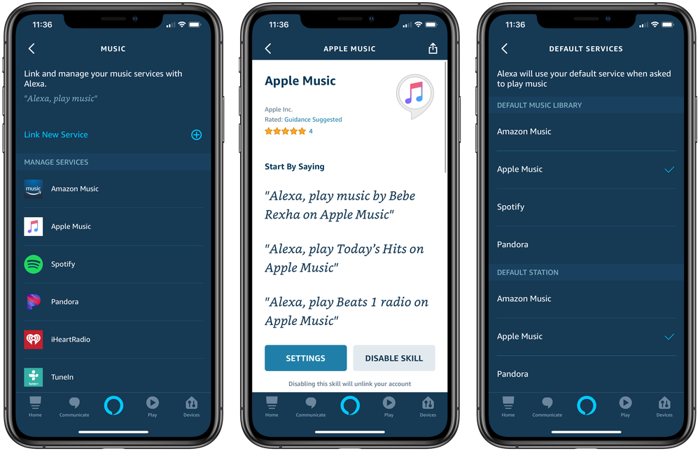 Attivare Apple Music su Alexa