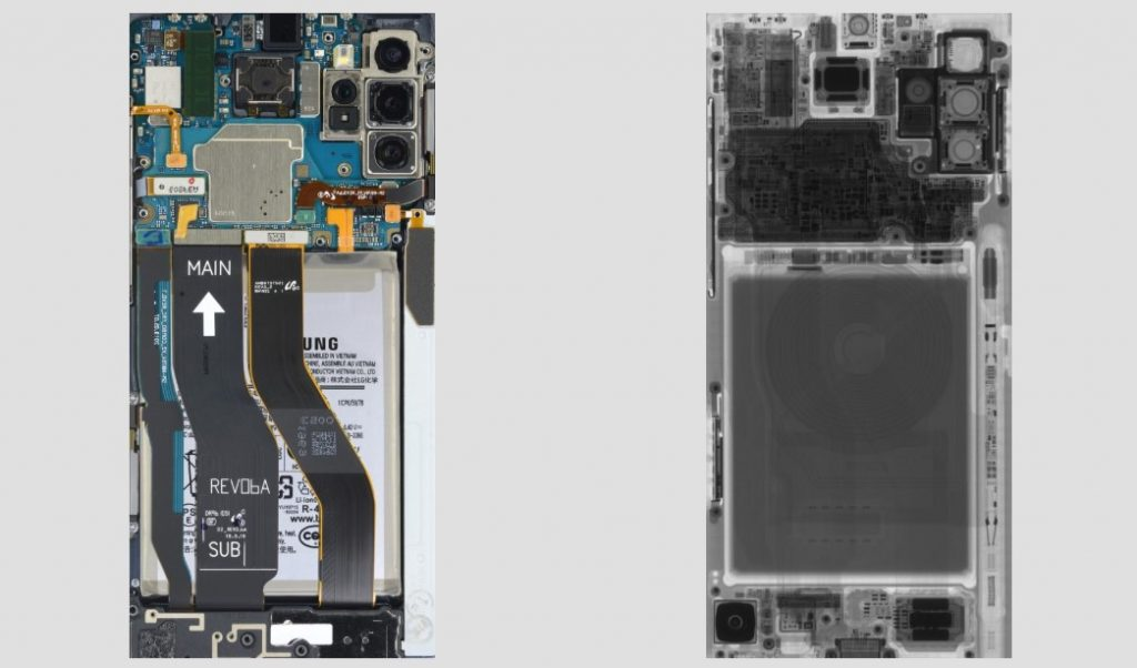 Samsung Galaxy Note 10+ Sfondi Smontato