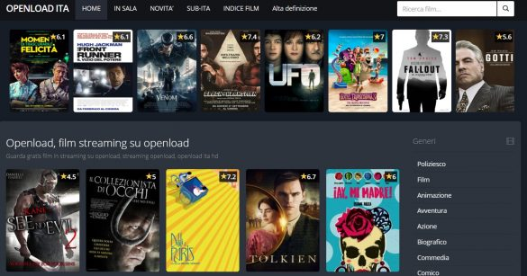 Openload Film Serie TV Streaming