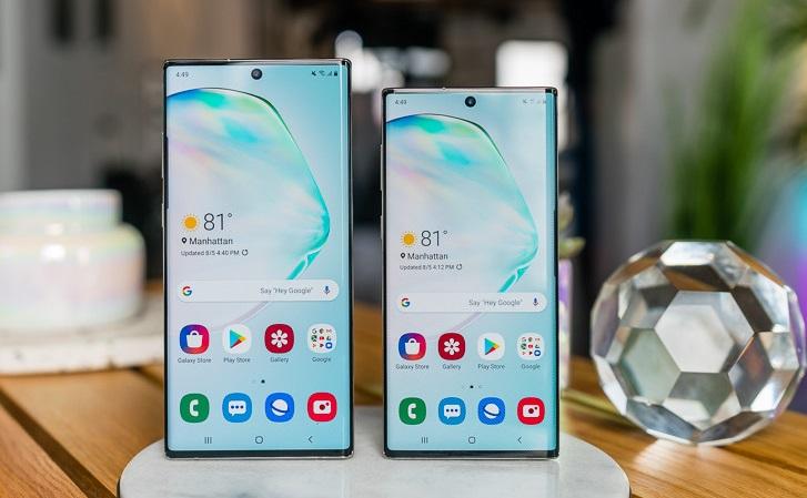 Samsung Galaxy Note 10 Fronte