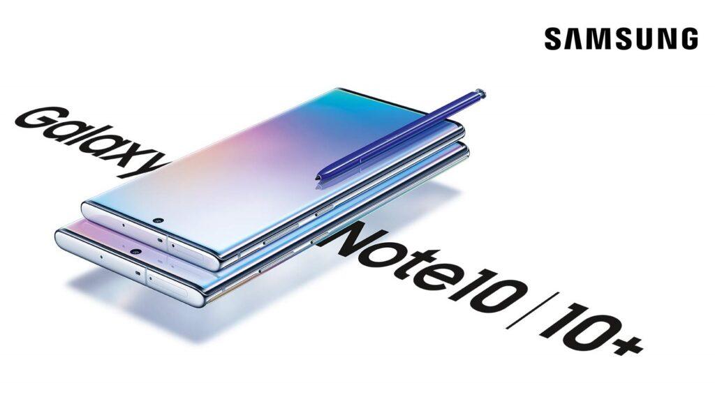 Samsung Galaxy Note 10 Home