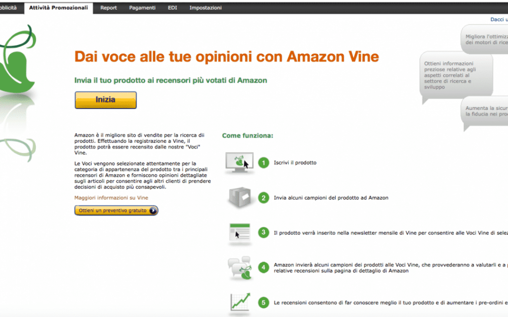 Amazon Vide Prodotti Amazon Gratis
