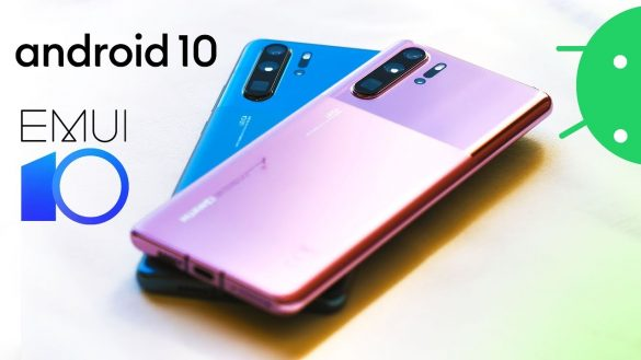 Android 10 Huawei P30 Pro