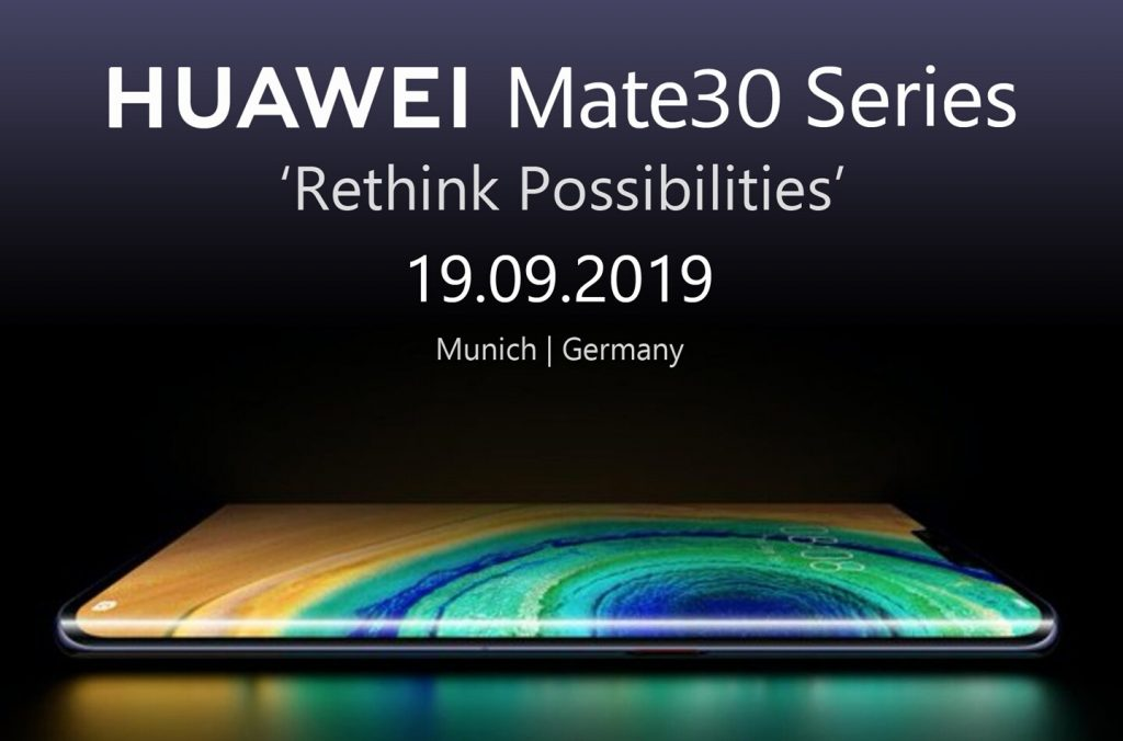 Huawei Mate 30 Series Annunced