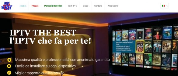 IPTV The Best Chiuso Cover