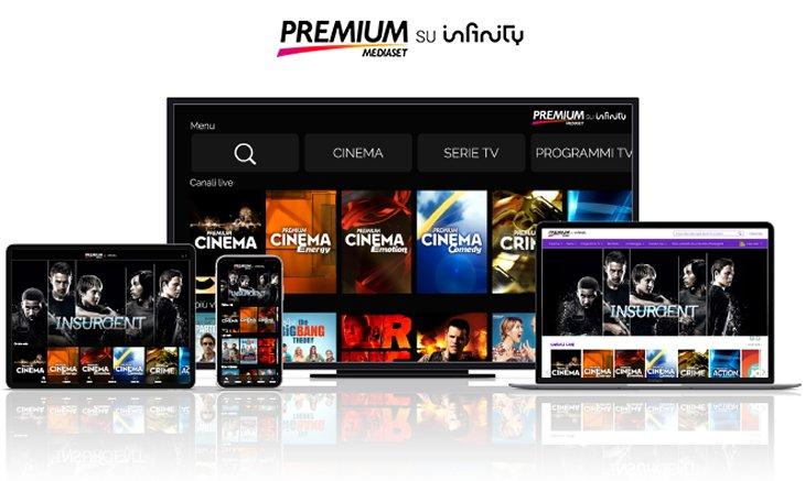 Mediset Premium su Infinity