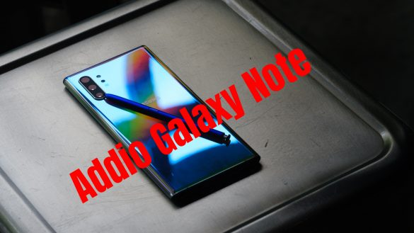 Samsung Galaxy Note addio
