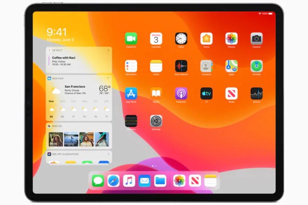 iOS 13 iPad iPadOS
