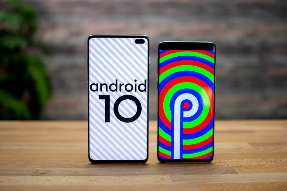 Android 10 Samsung Galaxy S10