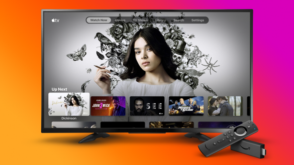 Apple TV su Amazon Fire TV Stick