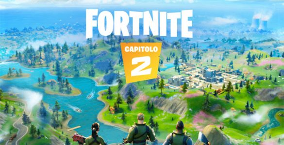 Fortnite Capitolo 2 Cover