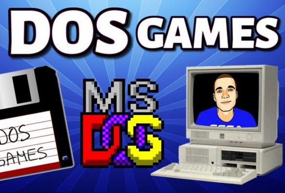 MS-DOS Games Cover
