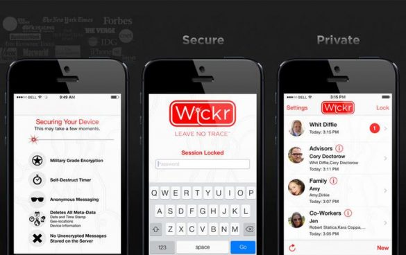 Wickr Cover
