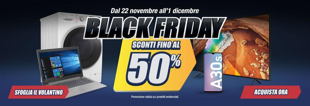 Black Friday Trony: Sconti fino al 50% in negozio ed ...