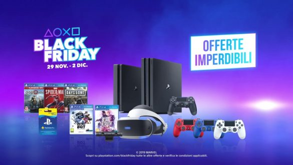 Black Friday Sony PlayStation 2019