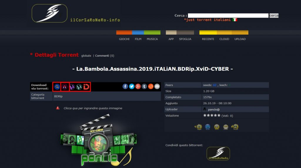 Il Corsaro Nero Download