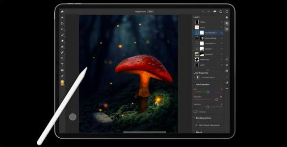 Download Photoshop per iPad