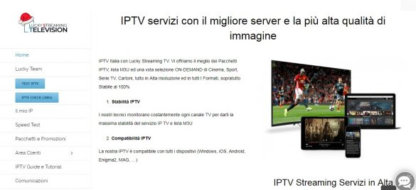 Lucky Streaming Television