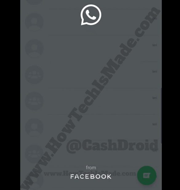 WhatsApp from Facebook New Logo Cover New