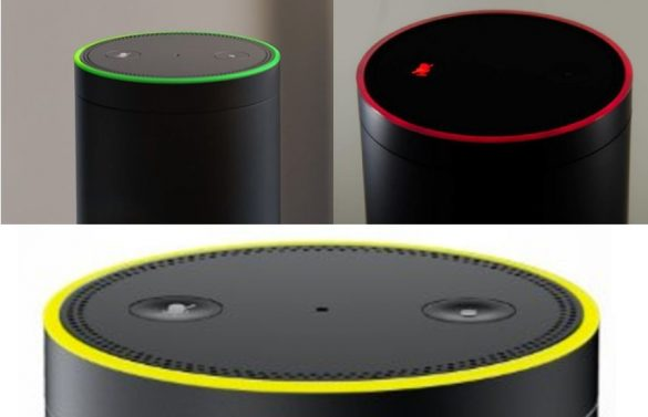 Amazon Echo Colori Anello