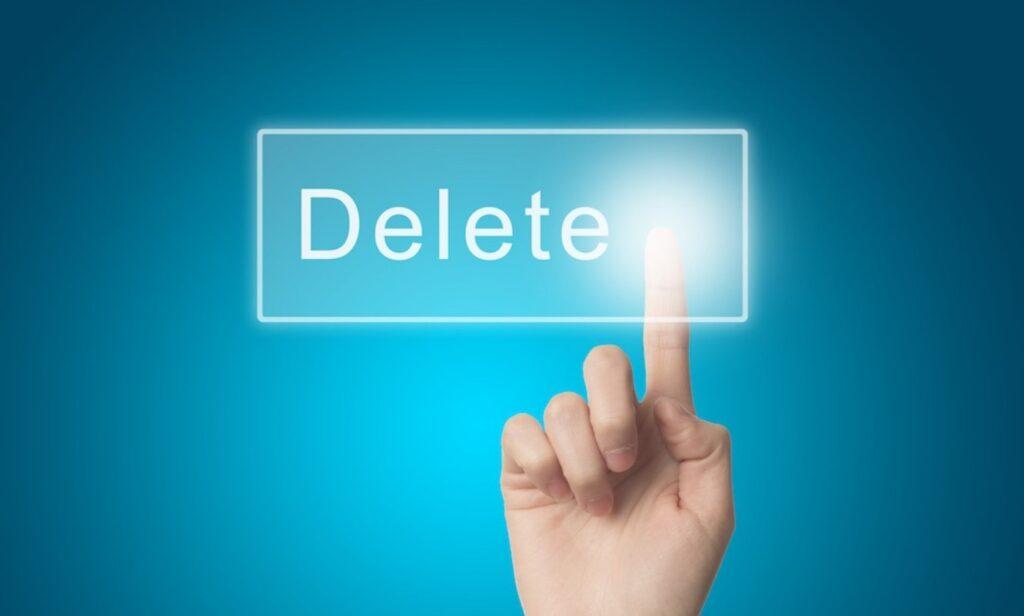 Cancellarsi da tutti gli Account Online