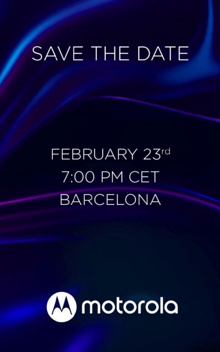 Evento Motorola MWC 2020 23 febbraio