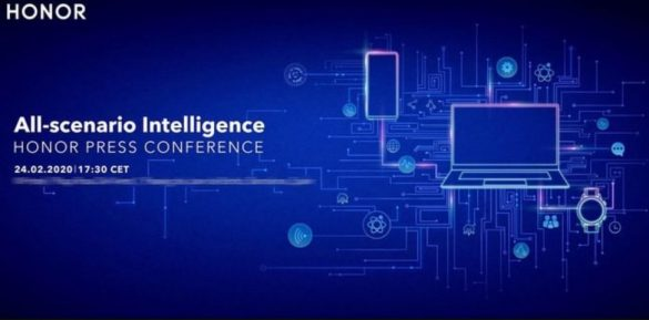 MWC 2020 - Honor Press Conference