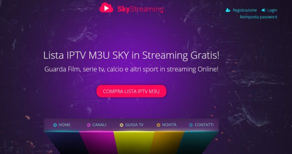 SkyIPTV.io - SkyStreaming IPTV Streaming
