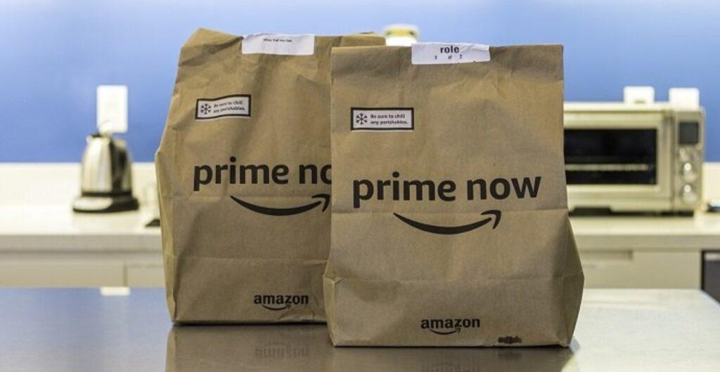 Amazon Prime Now Buste