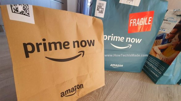 Amazon Prime Now Packet