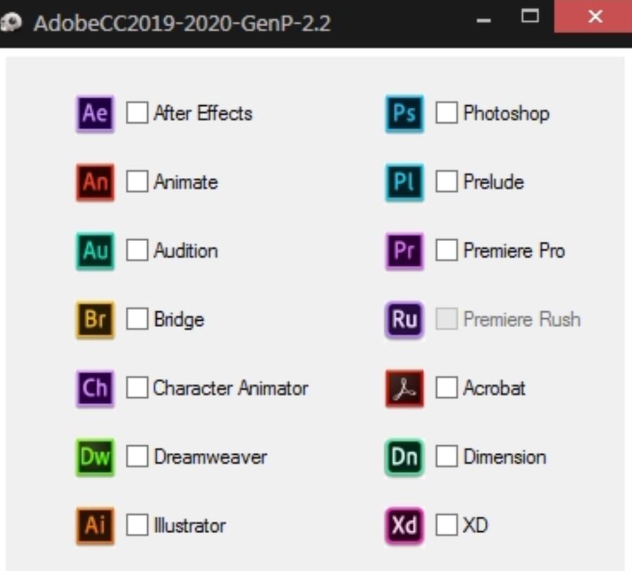 Crack Adobe CC Suite