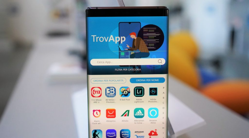 TrovApp Installare App Android Huawei