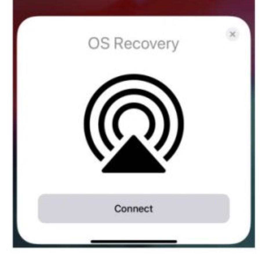 iOS OTA OS Recovery