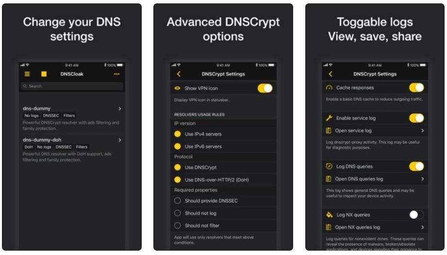 DNS Cloak iOS