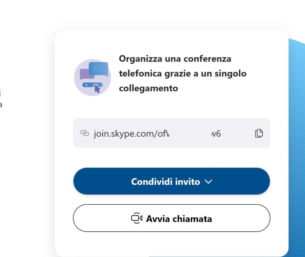 Skype Meet Now Link