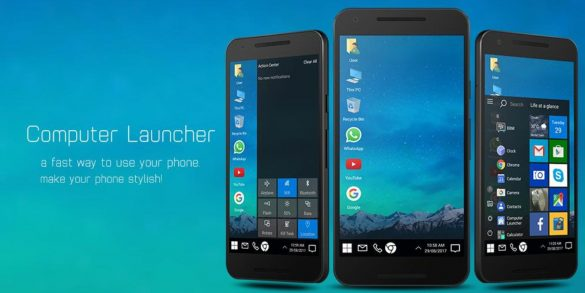 Computer Launcher Android