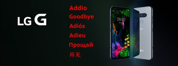 LG G Series The End