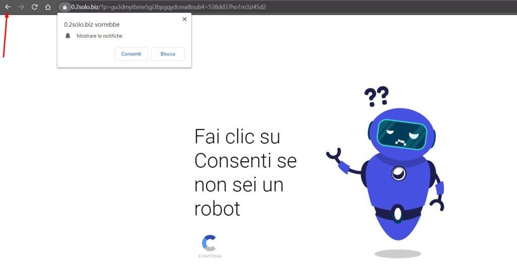Saltare Domande Robot