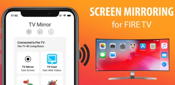 Screen Mirroring Fire TV iPhone