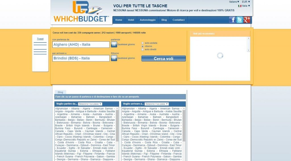 WhichBudget Web Site