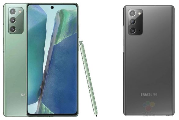 Galaxy Note 20 Leak Colors