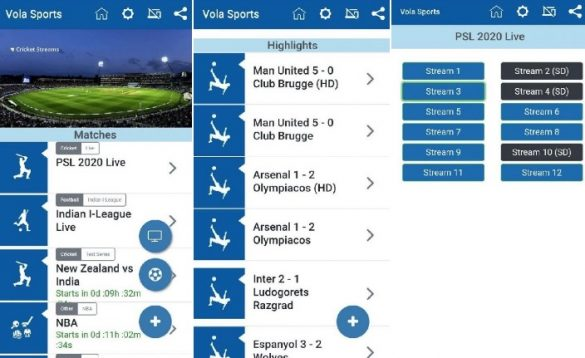 Vola Sports Android