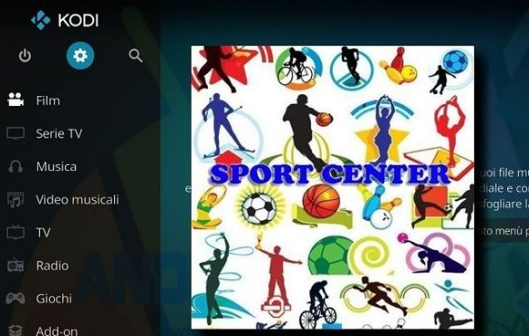 Sport Center KODI Logo