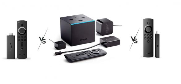 Fire TV Stick vs Fire TV Stick Lite vs Fire TV Cube