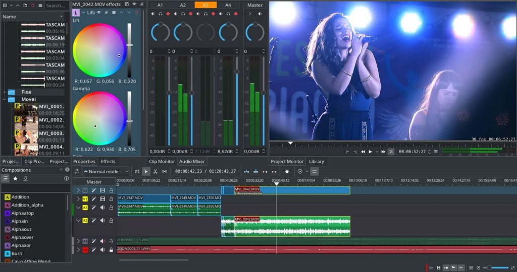 Kdenlive Free Video Editor Settaggi